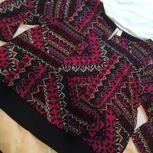 Tops - Multicolor Blouse (S, Miami)
